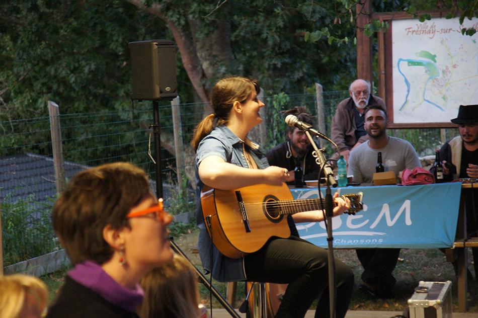 Clem en concert à Fresnay sur Sarthe